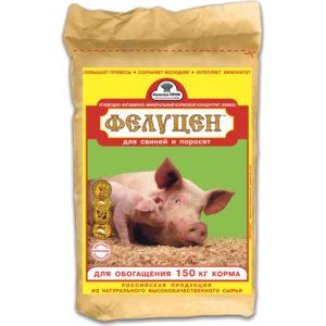 Фелуцен С2-4 для хряков, свиноматок, поросят, ремонтного молодняка гранулы 3кг