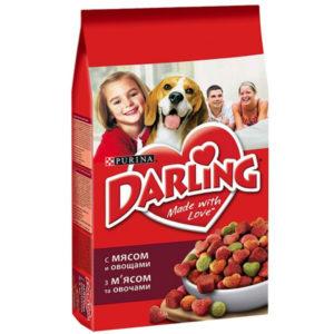 """Дарлинг """"Мясо с овощами"""" для собак 10кг"""