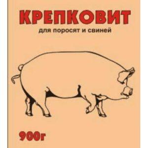 Крепковит для поросят и свиней 900г